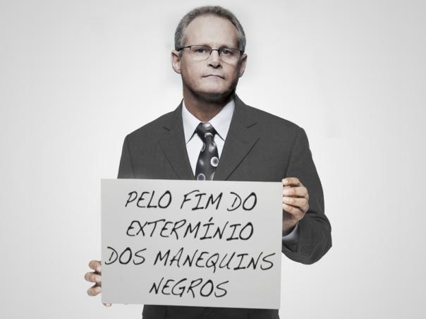 O Secretário de Genocídio do Rio de Janeiro lançou campanha pelo fim do extermínio de seres inanimados (foto: Divulgação)